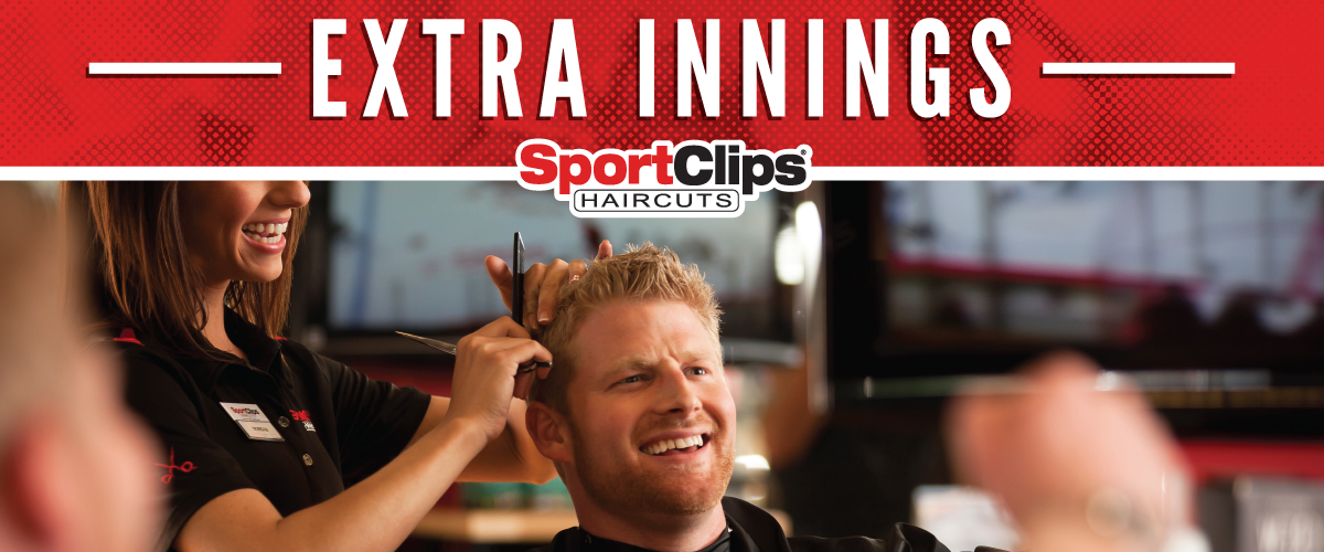 The Sport Clips Haircuts of Germantown Extra Innings Offerings